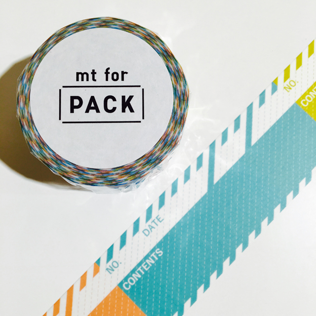 mt for PACK タグ 強粘着