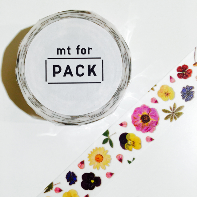 mt for PACK 押し花 強粘着