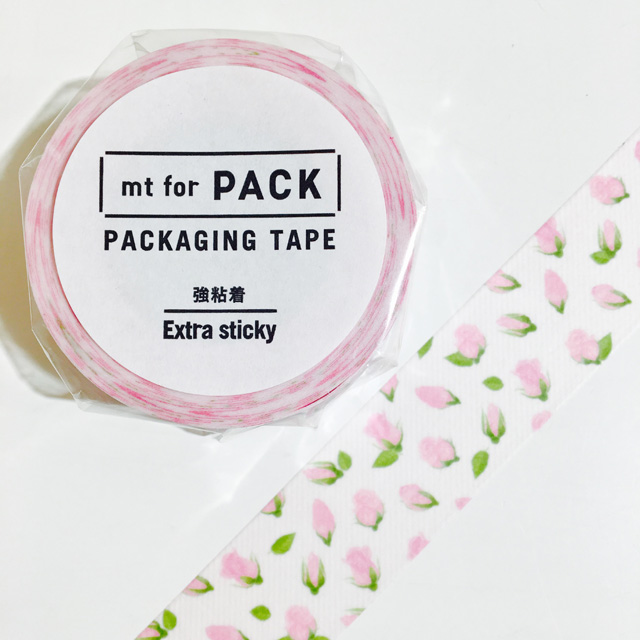mt for PACK(強粘着) つぼみ